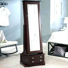 stand up mirror jewelry medium size of with box armoire mirrored bed bath and beyond mirrored jewelry mirror armoire