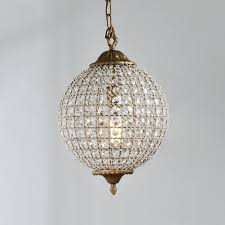 timeless lighting. Timeless Grandeur Crystal Orb Pendant Lighting