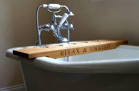 Bath Tray Wooden Bath Trays Makemesomethingspecialcom