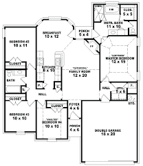 4 bedroom house plans one story gorgeous house plans 4 bedrooms one floor one story 4