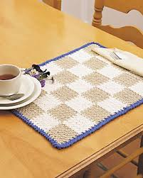 Free Crochet Placemat Patterns Interesting 48 Crochet Placemat Patterns Guide Patterns