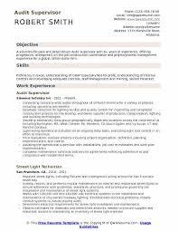 Auditor Job Description Resumes Audit Supervisor Resume Samples Qwikresume