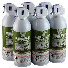 com simply spray upholstery fabric spray paint 8 oz can 6 pack sage green home improvement