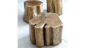 tree stump coffee table uk wood side for glass top natural