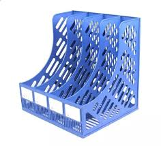 office paper holders. Office Supplies Prosperous A4 File Holder Triple Quadruple Bookshelf Desktop Information Finishing Frame Box Storage Rack Paper Holders