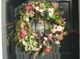 summer wreaths for front doorTop 25 Front Door Wreaths For Summer  Photos Front Door Wreaths