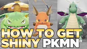 Pokemon Let S Go Element Chart How To Get Shiny Pokemon In Pokemon Lets Go Pikachu Eevee