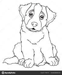 Puppy Kleurplaat