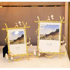 2019 6 Inch 7 Inch <b>Golden Butterfly Photo Frame</b> Swing Table ...
