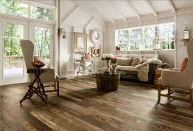 interior design ideas. Interior:Wonderful Vintage Style Interior Design Ideas With Brown Textured Wood Floor And White Painted