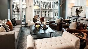 Cool Masculine Interior Design Living Room