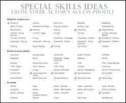 Sample Resume Skills List Resume Qualifications List List Of Skills Mesmerizing What Skills To List On Resume