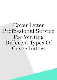 different cover letters cover letter professional service for writing different