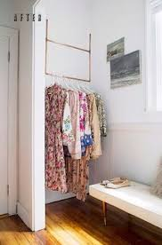 clothes storage ideas for small spaces. Corner Bar Small Space Solution In Clothes Storage Ideas For Spaces