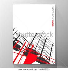 Abstract Architecture Background Layout Brochure Template Stock ...