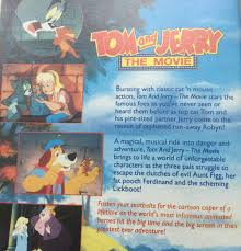 Tom and Jerry The Movie 1992 VHS Video Tape Kids Family Favourites for sale  online