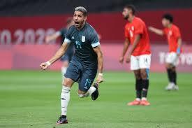 منتخب مصر الأولمبى يخسر أمام الأرجنتين بهدف نظيف فى أولمبياد طوكيو - فى  الملعب