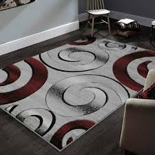 allstar rugs hand carved grey and white rectangular accent a