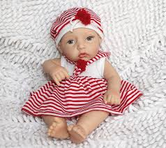 Real Life Size Silicone Doll 10 Inch Full Silicone Doll Baby Reborn