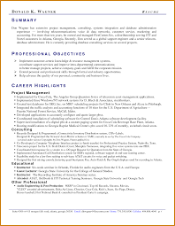 Professional Summary Resume Sample Professional Summary Sample Notary Letter 19