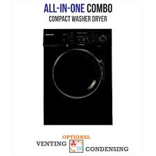 compact washer dryer combo. Interesting Dryer Deco Allinone 1200 RPM Compact Combo Washer Dryer With Optional  Condensing Throughout