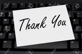 Electronic Thank You Card Free Computer Keyboard With A Thank You Card Thank You For Your Business