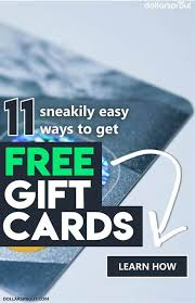 want to learn how to get free gift cards well here are 11 super sneaky