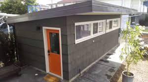 tiny house with garage. amazing 250 sqft studio type tiny house with garage