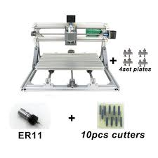 3 axis usb diy cnc 3018 router kit wood engraving carving pcb milling machine