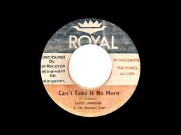 Carey Johnson & The Musical Star - Can't Take It No More - YouTube