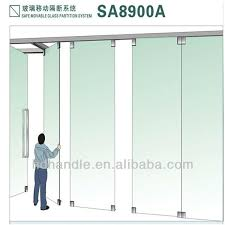 folding office partitions. Stainless Steel Sliding Folding Glass Partitions For Stacking And System Office S