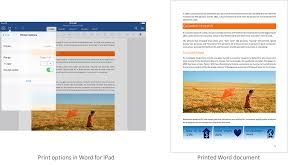 How Do I Print From My Ipad Office For Ipad Now Includes Printing Microsoft 365 Blog