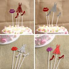 Hot Selling Party Dessert Table Decoration Sexy Skirt High Heels Red