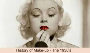 1930s makeup history