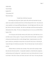 observation essays classroom observation essay amanda m welter