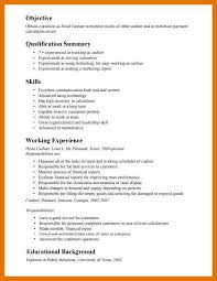 A Summary For A Resumes 9 10 Cashier Summary For Resume Juliasrestaurantnj Com
