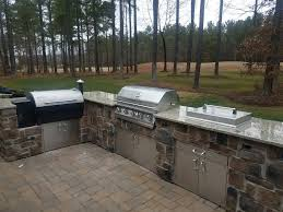 traeger built in. Delighful Built Project Complete Traeger Smoker And Grill Outdoor Kitchen On Built In G