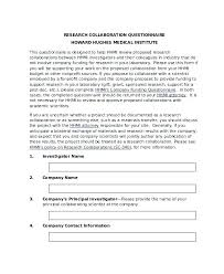 Medical Research Proposal Template Doc Importance Of Disclaimers In