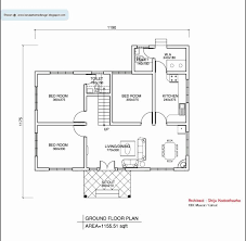 1200 sq ft house plans 3 bedroom kerala style fresh 2 bedroom house