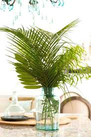 metal palm leaf wall decor tree trend cuttings in