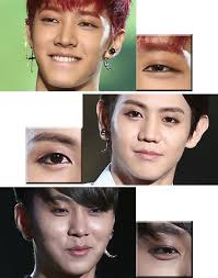 why are male idol groups wearing eyeliner