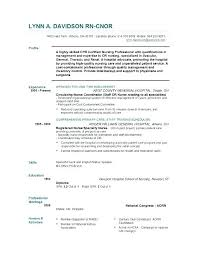 Resume Format For Nurses Amazing Nurse Resume Format Nursing Free Download Sample Telemetry For