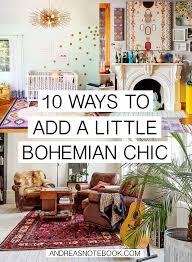 10 Ways To Add Bohemian Chic To Your Home  AndreasNotebookcom Diy Boho Chic Home Decor