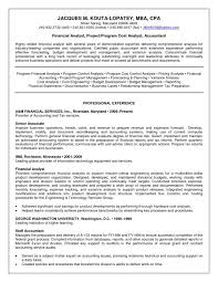 Financial Analyst Resume Objective Corporate Trainer Resume Financial Analyst Resume Sample Gallery 56