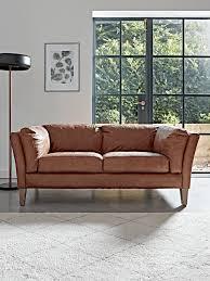 tetbury leather sofa tan