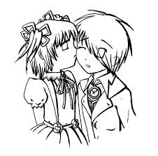 Cute Relationship Coloring Pages