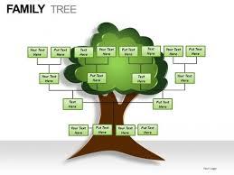 powerpoint family tree template family tree template powerpoint template design