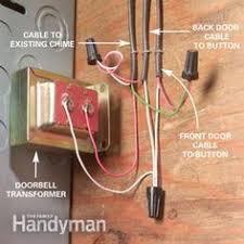 doorbell wiring diagrams doorbell wiring troubleshooting at Wiring Diagram For Front Door Bell