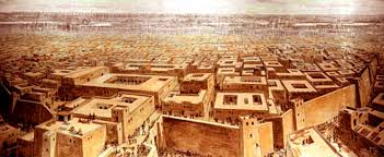 the breathtaking ruins of mohenjo daro have an ancient tale to  an artist s rendition of what mohenjo daro might have looked like during its peak
