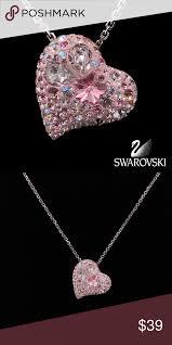 swarovski alana heart shaped pendant